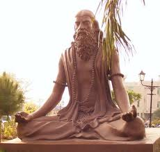 statue of Patanjali - ancient author of Yoga treatises